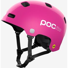 POC POCito Crane MIPS Helmet Kids, fluorescent pink